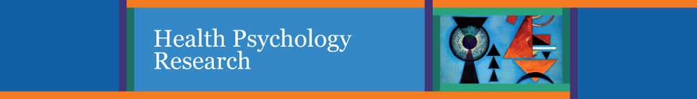Health Psychology Research banner